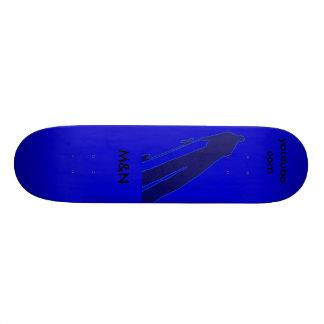 M&N-Sombra, azul Tabla De Patinar