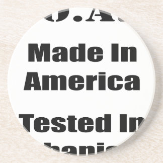 M.O.A.B. Made In America Tested In Afghanistan Blk Drink Coaster