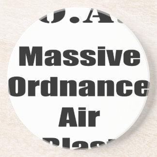 M.O.A.B. MOAB  Massive Ordnance Air Blast Tee Coaster