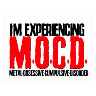 M.O.C.D. POSTCARD