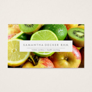 M O D E R N | Nutrition + Health | Business Card