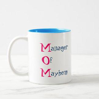 M.O.M. Manager of Mayhem Mug