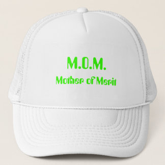 M.O.M. Mother of Merit Hat