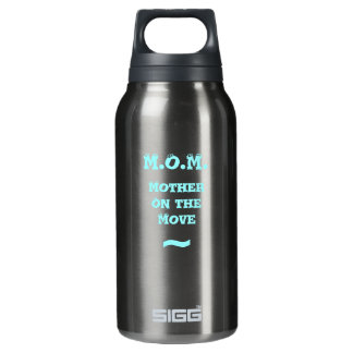 M.O.M. Mother on the Move Insulated Water Bottle