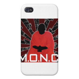 M.O.N.C. Logo Case For iPhone 4
