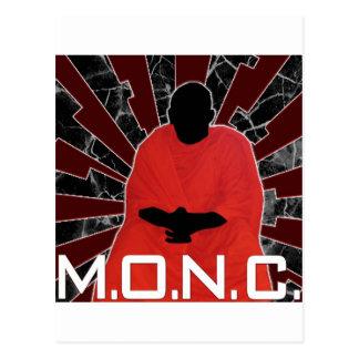 M.O.N.C. Logotipo Tarjeta Postal