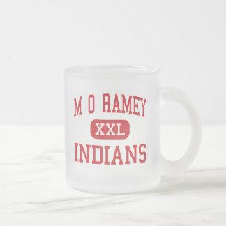 M O Ramey - indios - joven - Fayetteville Tazas De Café