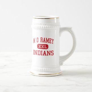 M O Ramey - indios - joven - Fayetteville Taza