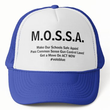 Lawyer Themed M.O.S.S.A. Trucker's Hat