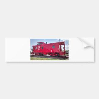 M.P. Railroad Caboose Bumper Sticker