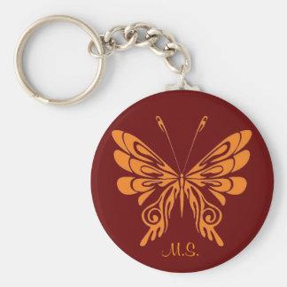 M.S. Butterfly Keychain