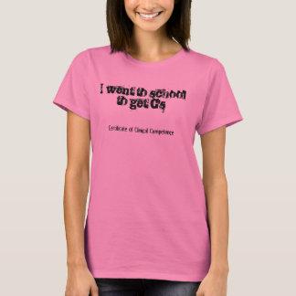 M.S. CCC-SLP T-Shirt