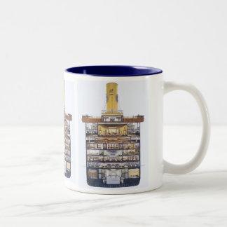 M/S Kungsholm Two-Tone Coffee Mug