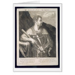 M. Silvius Otho Emperor of Rome 68 AD engraved by Card