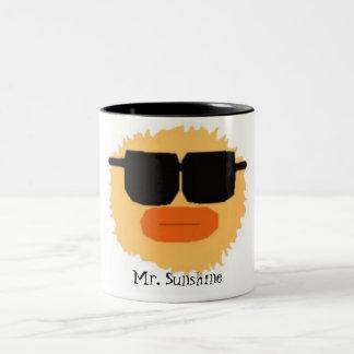 M.sunshine copy, Mr. Sunshine Two-Tone Coffee Mug