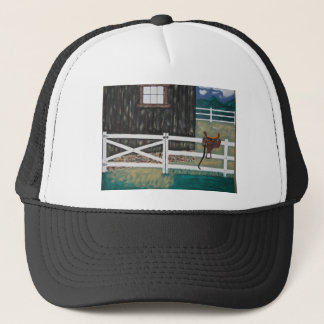 M T Saddle Trucker Hat