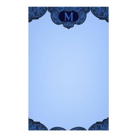 M - The Falck Alphabet (Blue) Stationery