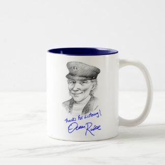 M - The Ocean Rudee Autograph Coffee Mugs