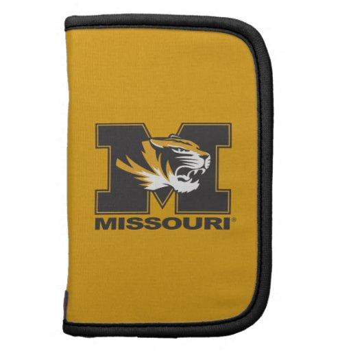 M & Tiger Head: Missouri Folio Planners