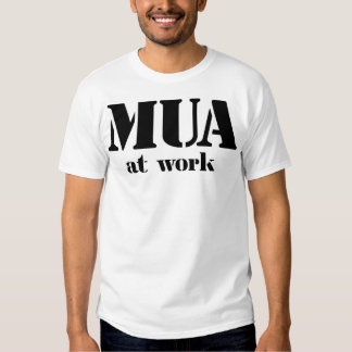 M.U.A. en el trabajo Playeras