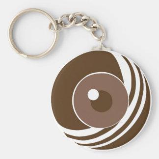 M.U.L Eye Logo Keychain