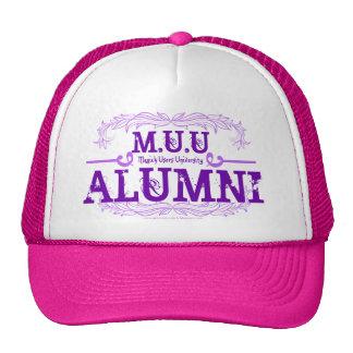 M.U.U Alumni Baseball Cap Mesh Hats