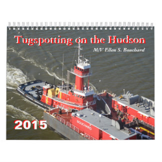 M/V Ellen Bouchard Tugspotting on the Hudson Calendar