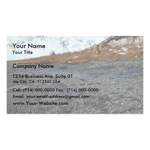 M/V Selendang Ayu Oil Spill Unalaska 2004 Business Card Templates