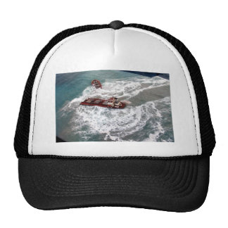 M V Selendang Ayu Oil Spill Unalaska 2004 Mesh Hats