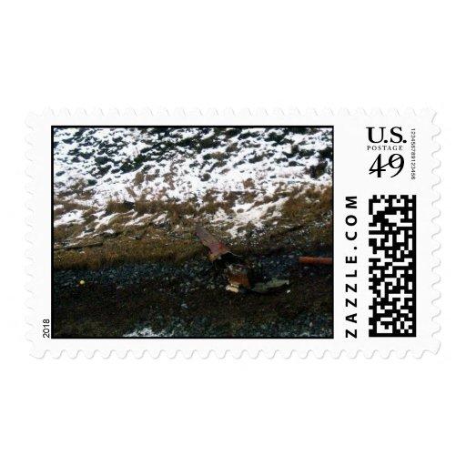 M/V Selendang Ayu Oil Spill Unalaska 2004 Postage
