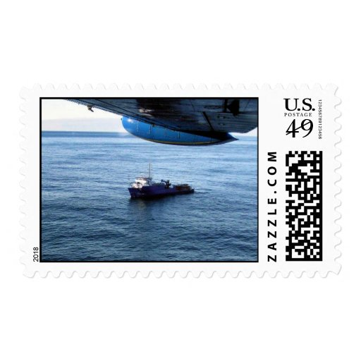 M/V Selendang Ayu Oil Spill Unalaska 2004 Stamp