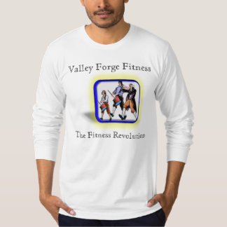 (M) Valley Forge Revolution fitted long sleeve T-Shirt