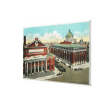 MA Avenue View of Symphony, Horticultural Gallery Wrapped Canvas