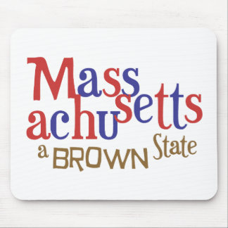 MA Brown State - Massachusetts Sen Scott Brown Mousepads