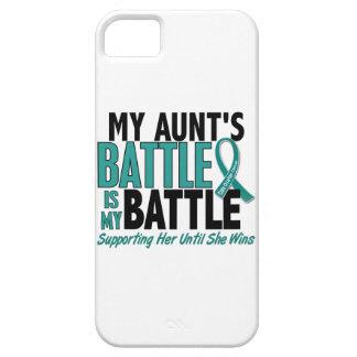 Ma de bataille tante Cancer ovarien trop iPhone SE/5/5s Case