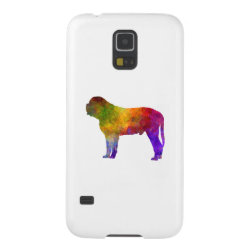 Case-Mate Barely There Samsung Galaxy S5 Case with Mastiff Phone Cases design
