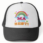 Ma Is the Best Trucker Hat