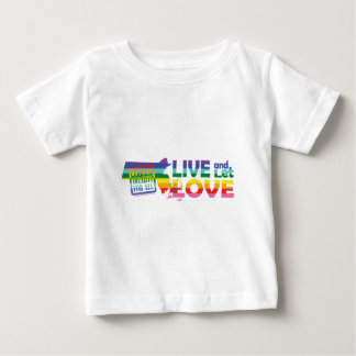 MA Live Let Love Baby T-Shirt