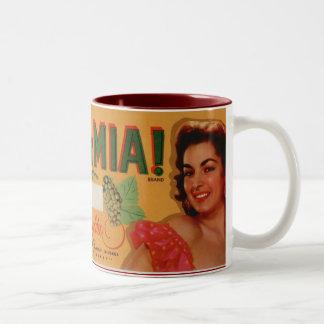 Ma Ma Mia Grapes Coffee Mugs