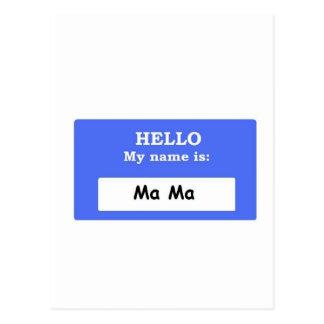 Ma Ma Postcard