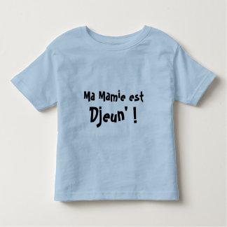 Ma Mamie est Djeun' ! Toddler T-shirt