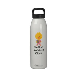 MA Medical Assistant Chick Water Bottle
