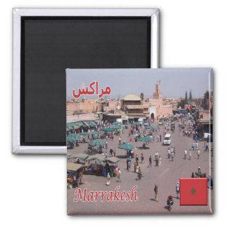 MA - Morocco - Marrakesh Magnet