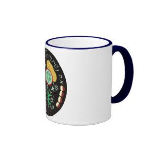 Ma Nishtana Halaila Haze Mikol Haleilot Ringer Coffee Mug