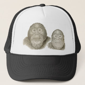 Ma & Pa - THE BABOON COUPLE Trucker Hat