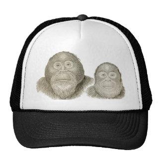Ma & Pa - THE BABOON COUPLE Trucker Hat