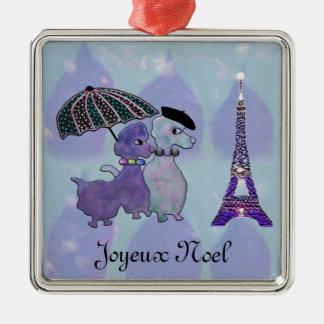 Ma Petite Belle Amour Metal Ornament