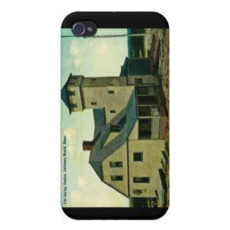 MA Salisbury Beach Life Saving Station Postcard iPhone 4/4S Covers
