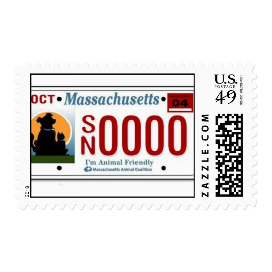 MA Spay Neuter License Plate Postage