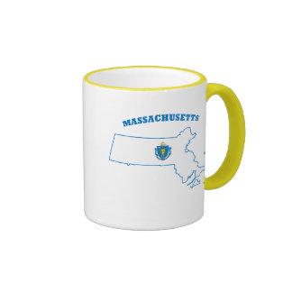 MA State Flag Mugs